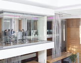 Glass meeting room in modern office - CAIF17907