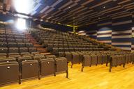 Seats in empty auditorium - CAIF18297