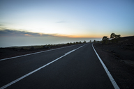 Spain, Canary Islands, Tenerife, empty road in Teide National Park - STCF00405