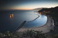 Spain, Canary Islands, Tenerife, San Andres beach at dusk - STCF00447