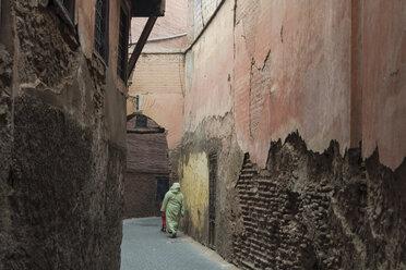 Morocco, Marrakesh, Medina, alley - TAMF00964