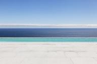 Infinity pool overlooking ocean - CAIF18973