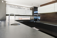 Sink and counters in modern kitchen - CAIF18985
