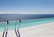 Infinity pool overlooking ocean - CAIF18994