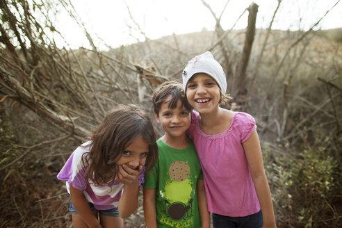Portrait of cheerful children - CAVF11879