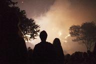 People watching smoke at sky - CAVF16744