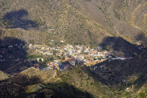 Spain, Canary Islands, La Gomera, Vallehermoso - SIEF07758