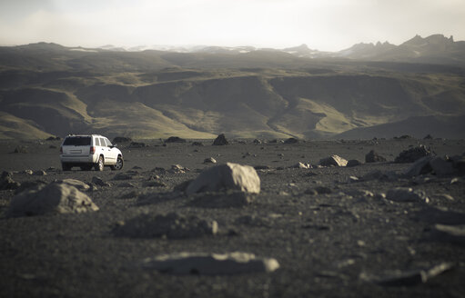 Iceland, Skoga, off-road vehicle - STCF00489