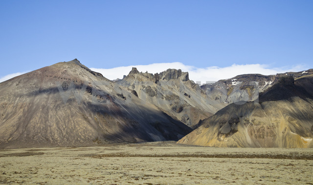 Iceland, South of Iceland, mountains - STCF00525