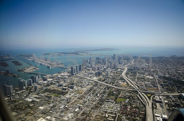 USA, Florida, Miami, aerial view - STCF00558