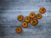 Kumato tomatoes on wood - KSWF01880