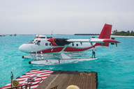 Maldives, seaplane on the ocean - ZEF15259