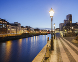 Waterfront cityscape at dusk - FOLF01062