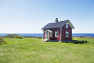 Red house by sea - FOLF02179