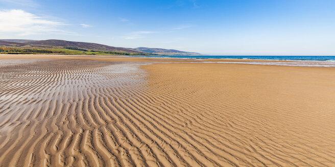 United Kingdom, Scotland, East Coast, Brora, North Sea, beach - WDF04508