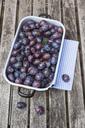 Fresh plums in casserole - GWF05471