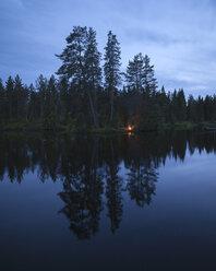 Tranquil lake at dusk - FOLF03884