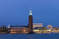 Stockholm Town Hall against blue sky - FOLF04034
