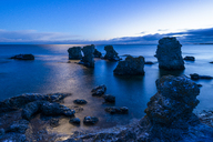 Rock formations on coastline at dawn - FOLF04058