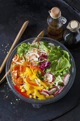 Bowl of mixed salad - CSF28996