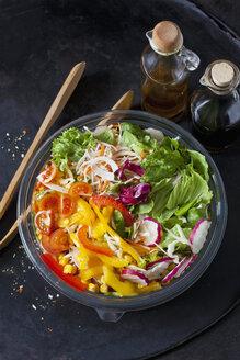 Bowl of mixed salad - CSF28996