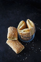 Puff pastries filled with marzipan - CSF29077