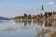 Germany, Baden-Wuerttemberg, Lake Constance, Lake Ueberlingen, Sipplingen, Marina - WDF04536