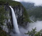 Jotunheimen mountain range and Utladalen valley with Vettisfossen waterfall - FOLF05904