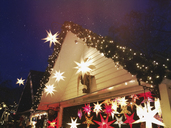 Germany, Cologne, Christmas Market, countless stars - GWF05502