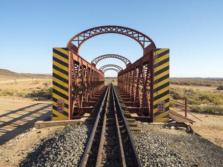 Africa, Namibia, railway bridge, railway track - RJF00738
