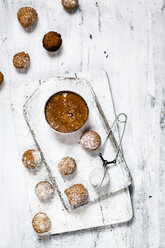 Donut holes with caramel sauce - SBDF03499