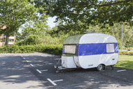 Camping trailer in parking space - FOLF06857