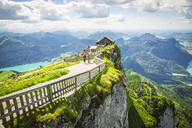 Austria, Salzkammergut, View from Mountain Schafberg - AI00464
