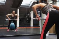 Young woman exercising at gym - FOLF07097