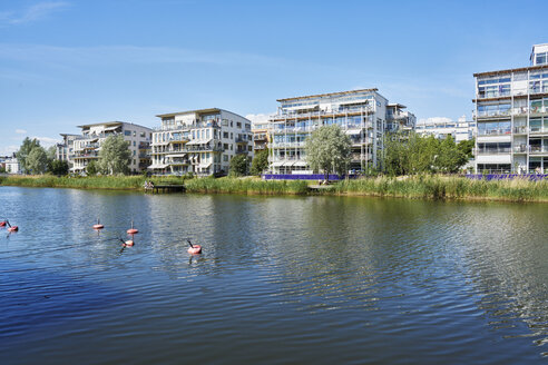River and residential buildings - FOLF07328