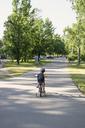 Cycling boy in a park - FOLF08062