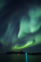 Norway, Lofoten Islands, Eggum, Northern lights - WVF01081