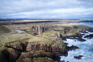 United Kingdom, Scotland, Aberdeenshire, Slains Castle - MJOF01482