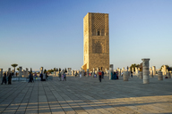 Morocco, Rabat, view to Hassan Tower - TAM01026