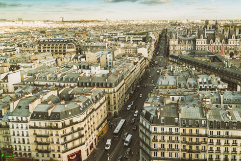 France, Paris, view to the city from above - TAMF01029