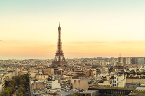 France, Paris, view to Eiffel Tower - TAMF01035