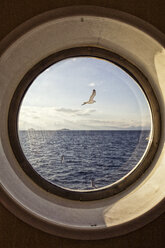 Sea view through porthole - MAMF00015