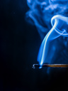 Smoke of blown out matchstick - EJWF00862