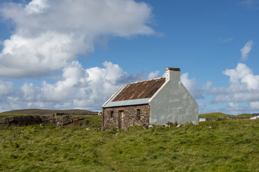 United Kingdom, Scotland, Sutherland, Assynt, Clachtoll, Crofter House, old farmhouse, museum - LB01889