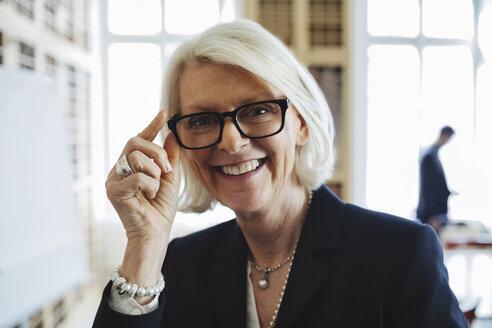 Portrait of confident senior lawyer - MASF03440