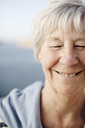 Close-up of happy senior woman - MASF03743