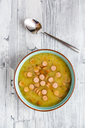 Potato soup with leek, carrot and wiener - SARF03661