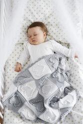 Baby sleeping in the crib - ABIF00331