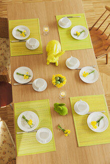 Laid Easter table - GWF05514