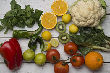 Various fruits and vegetables with vitamin c - SKCF00424